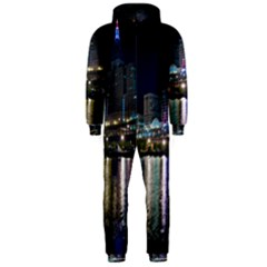 Cleveland Building City By Night Hooded Jumpsuit (men)