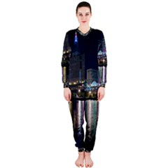 Cleveland Building City By Night Onepiece Jumpsuit (ladies)