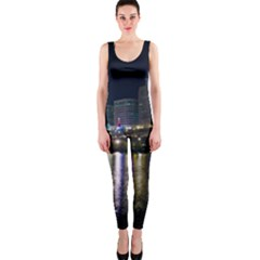 Cleveland Building City By Night Onepiece Catsuit