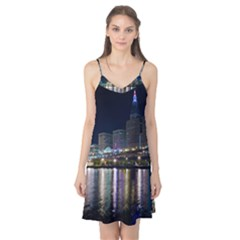 Cleveland Building City By Night Camis Nightgown