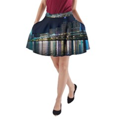 Cleveland Building City By Night A-Line Pocket Skirt