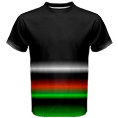 Colorful Neon Background Images Men s Cotton Tee