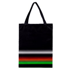 Colorful Neon Background Images Classic Tote Bag