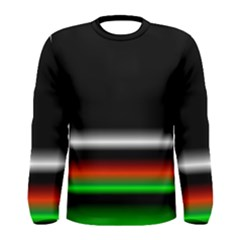 Colorful Neon Background Images Men s Long Sleeve Tee