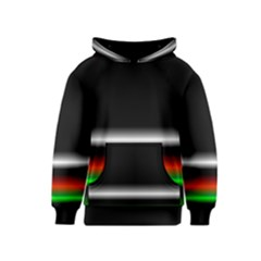 Colorful Neon Background Images Kids  Pullover Hoodie