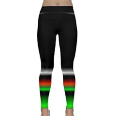 Colorful Neon Background Images Classic Yoga Leggings