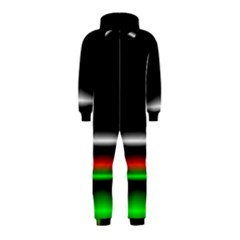 Colorful Neon Background Images Hooded Jumpsuit (kids)