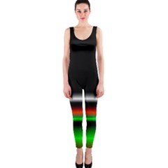 Colorful Neon Background Images Onepiece Catsuit
