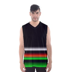 Colorful Neon Background Images Men s Basketball Tank Top