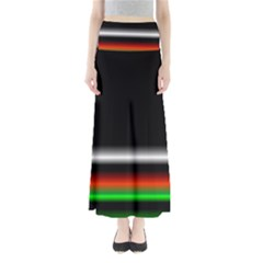 Colorful Neon Background Images Maxi Skirts