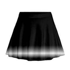 Colorful Neon Background Images Mini Flare Skirt