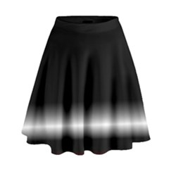Colorful Neon Background Images High Waist Skirt