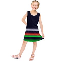 Colorful Neon Background Images Kids  Tunic Dress