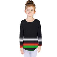 Colorful Neon Background Images Kids  Long Sleeve Tee