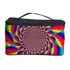 Colorful Psychedelic Art Background Cosmetic Storage Case