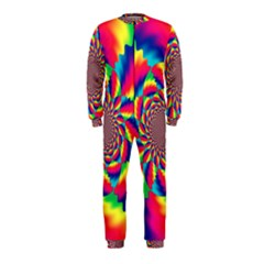 Colorful Psychedelic Art Background Onepiece Jumpsuit (kids)