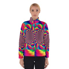 Colorful Psychedelic Art Background Winterwear