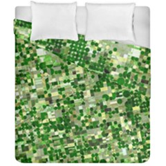 Crop Rotation Kansas Duvet Cover Double Side (california King Size)