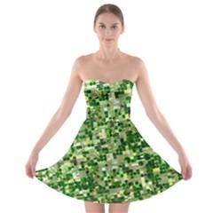 Crop Rotation Kansas Strapless Bra Top Dress