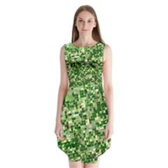 Crop Rotation Kansas Sleeveless Chiffon Dress