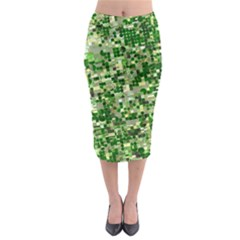 Crop Rotation Kansas Midi Pencil Skirt