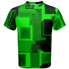 Cyber Glow Men s Cotton Tee
