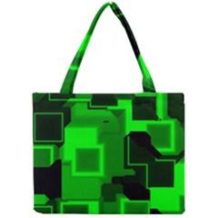 Cyber Glow Mini Tote Bag