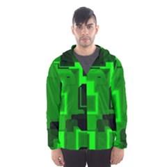 Cyber Glow Hooded Wind Breaker (men)