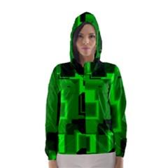 Cyber Glow Hooded Wind Breaker (women)
