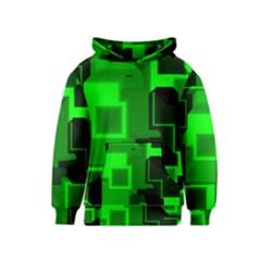 Cyber Glow Kids  Pullover Hoodie