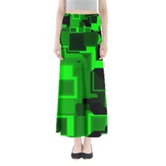 Cyber Glow Maxi Skirts