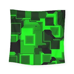 Cyber Glow Square Tapestry (small)