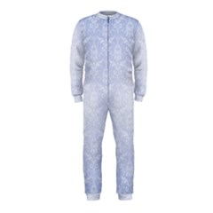 Damask Pattern Wallpaper Blue Onepiece Jumpsuit (kids)