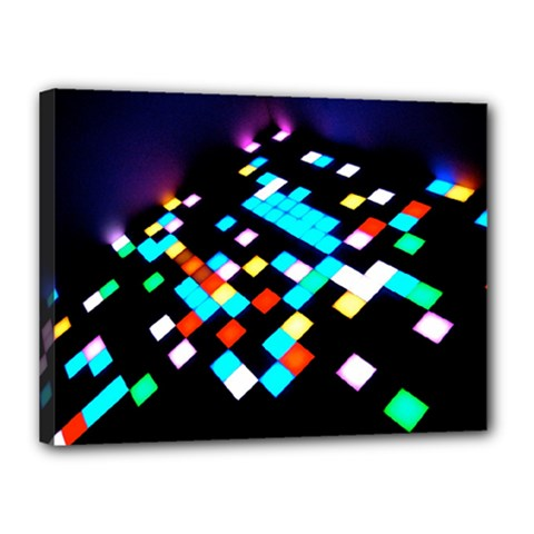 Dance Floor Canvas 16  X 12