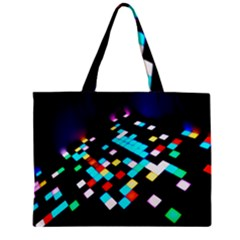 Dance Floor Zipper Mini Tote Bag