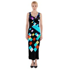 Dance Floor Fitted Maxi Dress