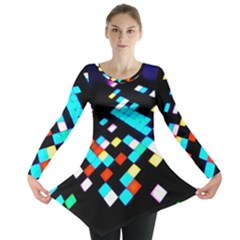 Dance Floor Long Sleeve Tunic