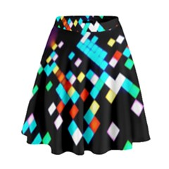 Dance Floor High Waist Skirt