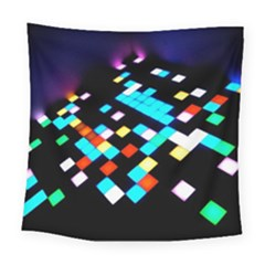 Dance Floor Square Tapestry (large)