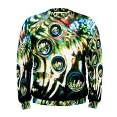 Dark Abstract Bubbles Men s Sweatshirt