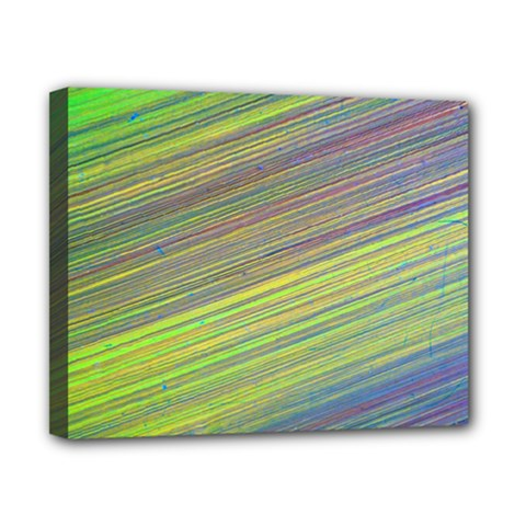 Diagonal Lines Abstract Canvas 10  X 8