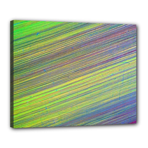 Diagonal Lines Abstract Canvas 20  X 16