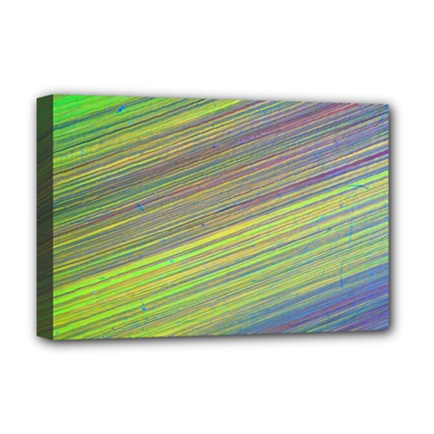 Diagonal Lines Abstract Deluxe Canvas 18  X 12