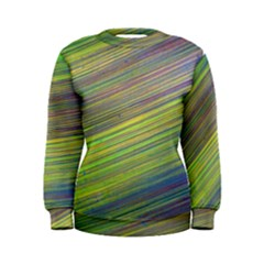 Diagonal Lines Abstract Women s Sweatshirt