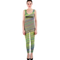 Diagonal Lines Abstract Onepiece Catsuit