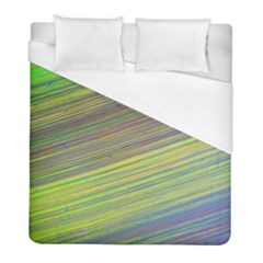 Diagonal Lines Abstract Duvet Cover (full/ Double Size)