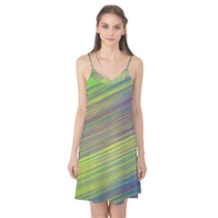 Diagonal Lines Abstract Camis Nightgown