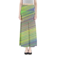 Diagonal Lines Abstract Maxi Skirts
