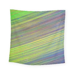 Diagonal Lines Abstract Square Tapestry (small)