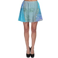 Digital Pattern Skater Skirt